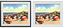 post card frames
