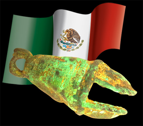 Mexican Flag bell Oct