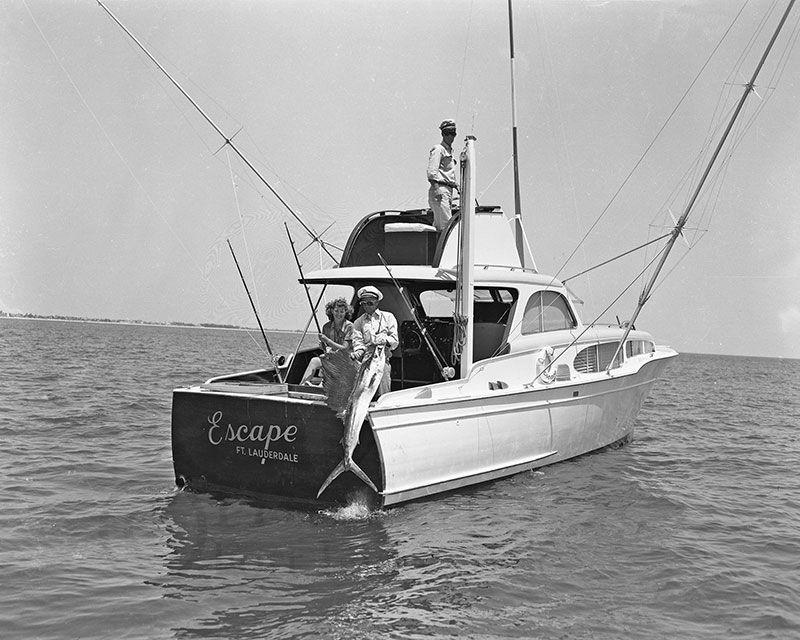 H47792 3 Boat Sailfishing