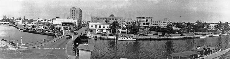 historical photo of downtown Fort Lauderdale